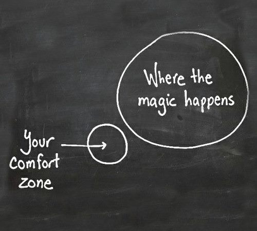 comfort zone and magic